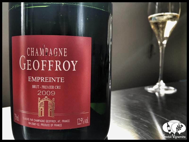2009 Champagne René Geoffroy Cuvée Empreinte Brut Premier Cru, France