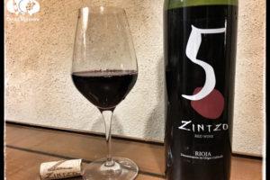 2013 Bodegas Zintzo 5 Crianza, Rioja