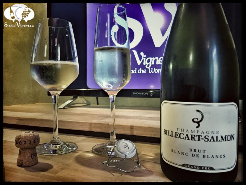 Champagne Billecart-Salmon Blanc de Blancs Grand Cru Brut : Fresh & Complex !