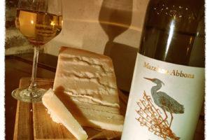 2015 Marziano Abbona Cinerino Langhe Bianco paired with Grana Padano Cheese
