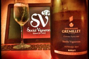 Gremillet Special Cuvée for 2017 Valentine's Day Brut Champagne