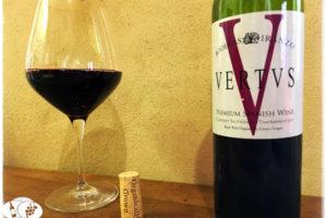 2017 Bodegas Iranzo Vertvs Premium Spanish Tempranillo Cabernet Sauvignon Red Blend, Valencia